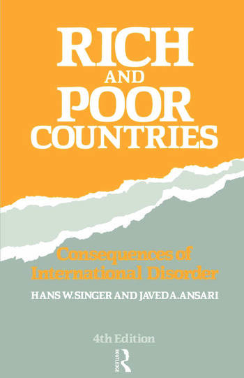 Rich and Poor Countries Consequence of International Economic Disorder book cover