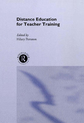 Distance Education for Teacher Training book cover