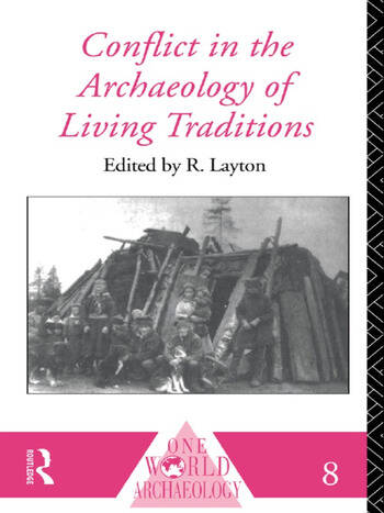 Conflict in the Archaeology of Living Traditions book cover