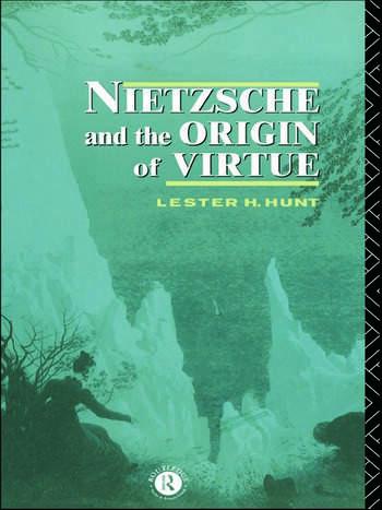 Nietzsche and the Origin of Virtue book cover