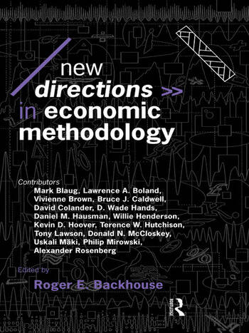 New Directions in Economic Methodology book cover