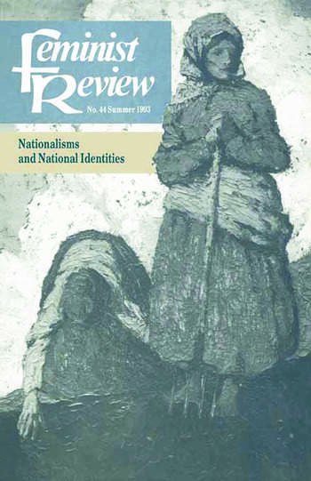 Feminist Review Issue 44: Nationalisms and National Identities book cover