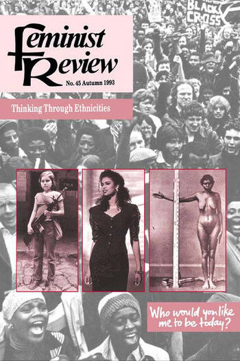 Feminist Review Issue 45: Thinking Through Ethnicities book cover