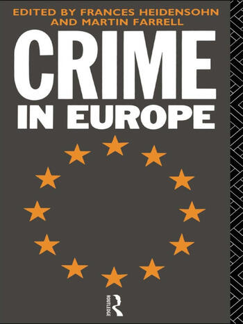 Crime in Europe book cover