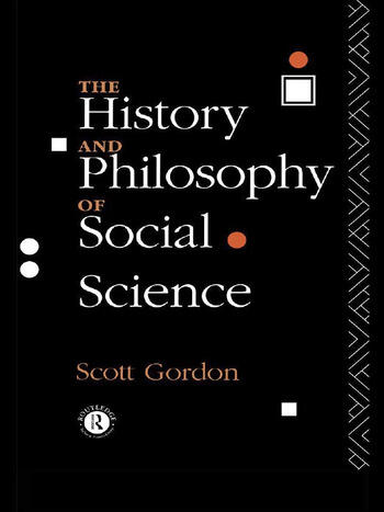 The History and Philosophy of Social Science book cover
