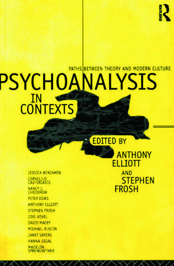 Psychoanalysis in Context Paths between Theory and Modern Culture book cover