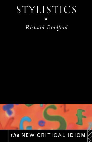 Stylistics book cover