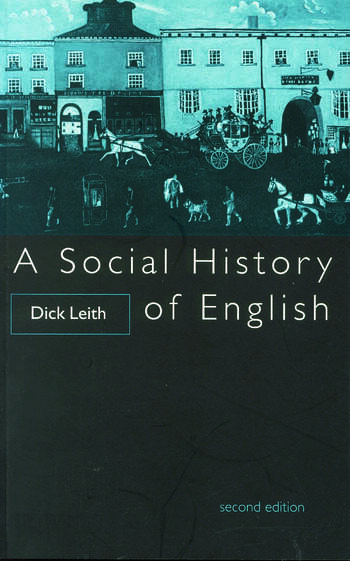 A Social History of English book cover