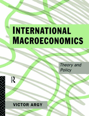 International Macroeconomics Theory and Policy book cover