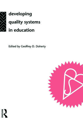 Developing Quality Systems in Education book cover