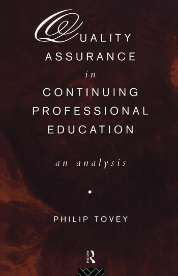 Quality Assurance in Continuing Professional Education An Analysis book cover