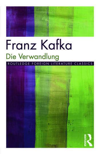 Die Verwandlung book cover