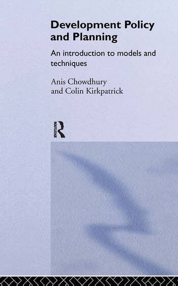 Development Policy and Planning An Introduction to Models and Techniques book cover