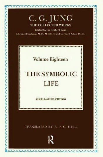 The Symbolic Life Miscellaneous Writings book cover