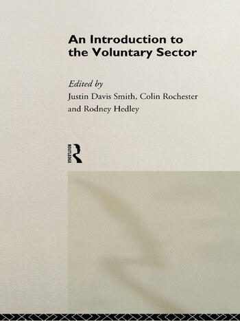 Introduction to the Voluntary Sector book cover
