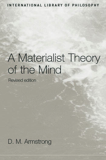 A Materialist Theory of the Mind book cover