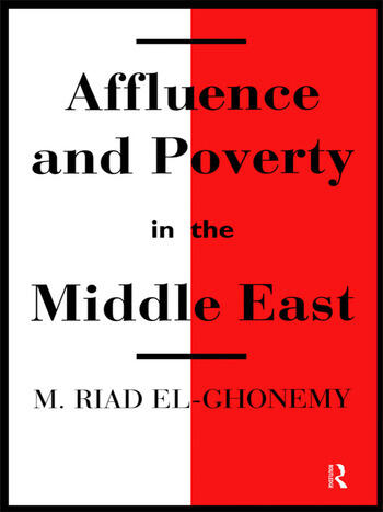 Affluence and Poverty in the Middle East book cover