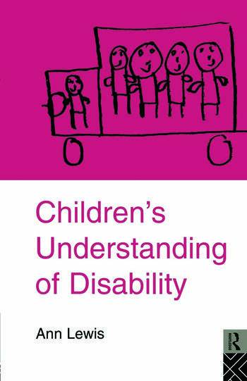 Children's Understanding of Disability book cover