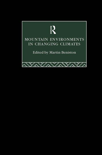 Mountain Environments in Changing Climates book cover