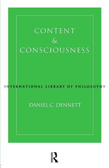 Content and Consciousness book cover