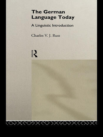 The German Language Today A Linguistic Introduction book cover