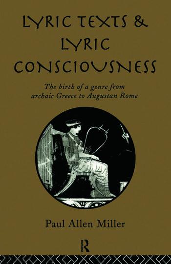 Lyric Texts & Consciousness book cover