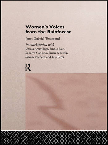 Women's Voices from the Rainforest book cover