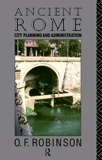 Ancient Rome City Planning and Administration book cover