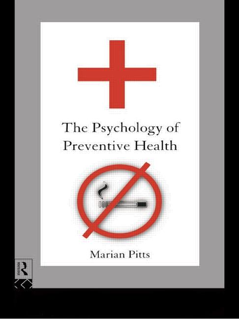 The Psychology of Preventive Health book cover