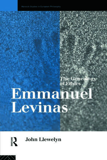 Emmanuel Levinas The Genealogy of Ethics book cover