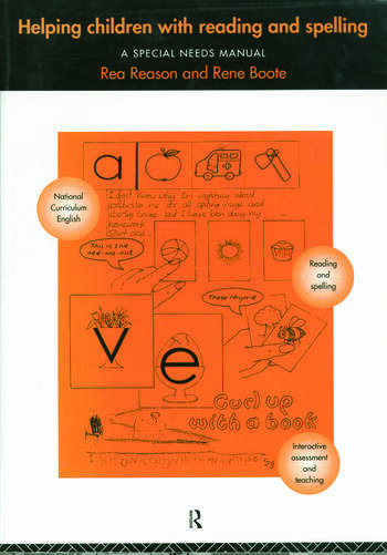 Helping Children with Reading and Spelling A Special Needs Manual book cover