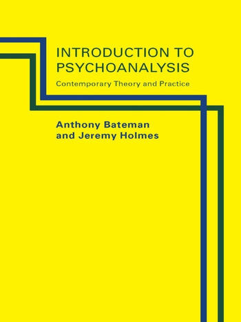 Introduction to Psychoanalysis Contemporary Theory and Practice book cover