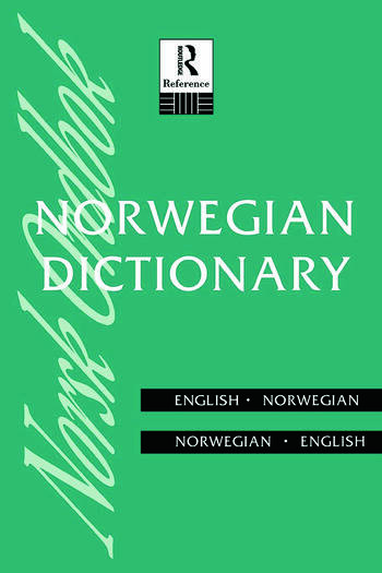 Norwegian Dictionary Norwegian-English, English-Norwegian book cover