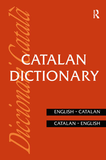 Catalan Dictionary Catalan-English, English-Catalan book cover