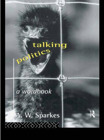 Talking Politics A Wordbook book cover