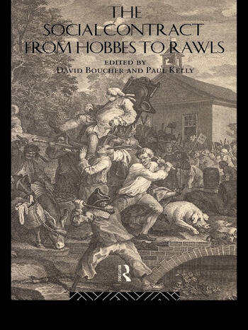The Social Contract from Hobbes to Rawls book cover