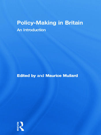 Policy-Making in Britain An Introduction book cover