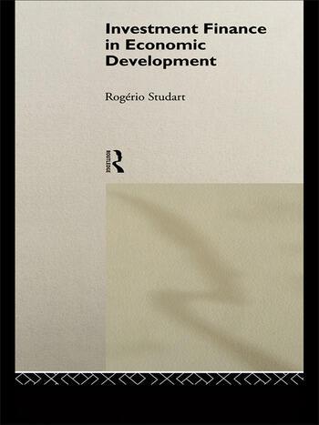 Investment Finance in Economic Development book cover