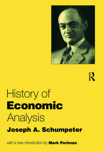 History of Economic Analysis book cover