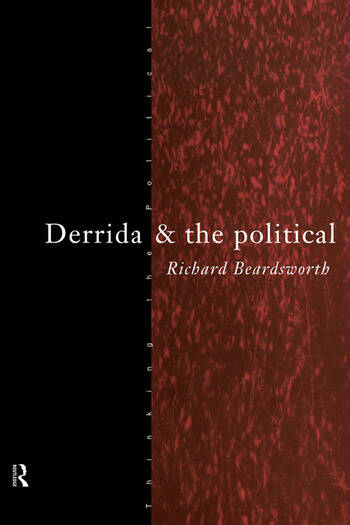 Derrida and the Political book cover