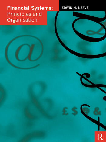 Financial Systems Principles and Organization book cover