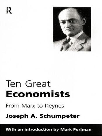 Ten Great Economists book cover