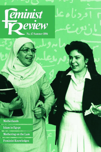 Feminist Review Issue 47 book cover