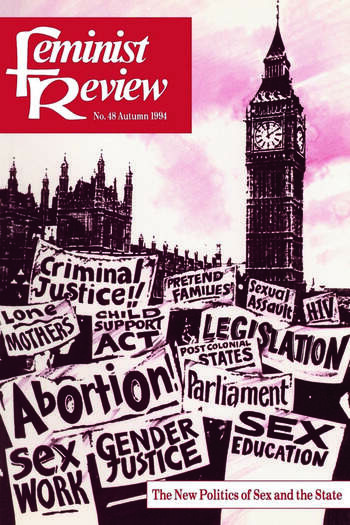 Feminist Review Issue 48: The New Politics of Sex and the State book cover