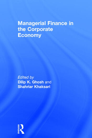 Managerial Finance in the Corporate Economy book cover