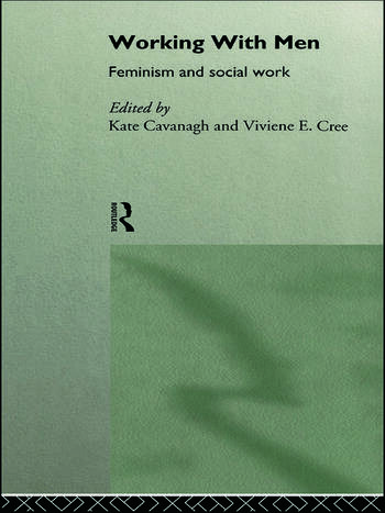 Working with Men Feminism and Social Work book cover