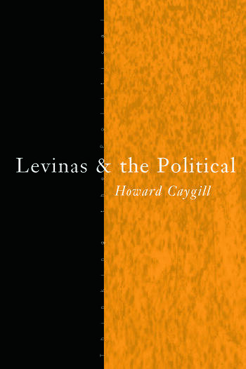 Levinas and the Political book cover