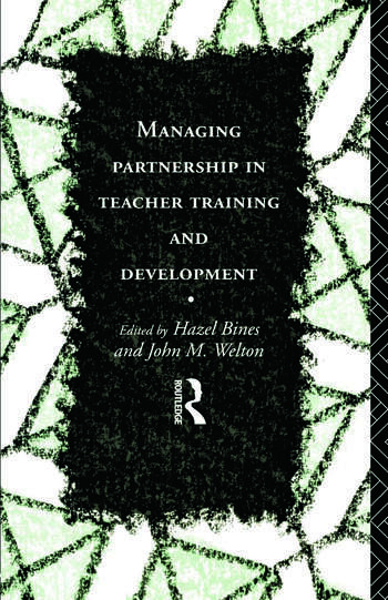 Managing Partnership in Teacher Training and Development book cover