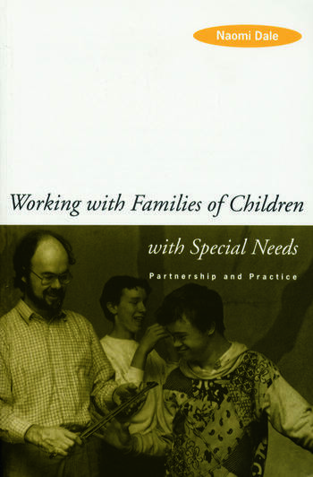 Working with Families of Children with Special Needs Partnership and Practice book cover