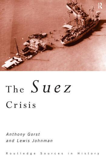 The Suez Crisis book cover
